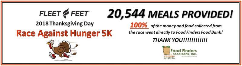 2018 Race Against Hunger 5K - Fleet Feet West Lafayette