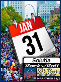 Rock 'n' Roll St. Louis Marathon & Half 1/2