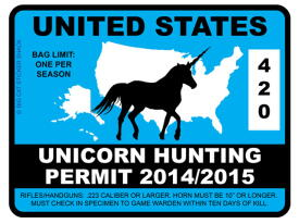 Unicorn Hunting Permit