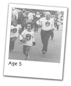 Steph at age 5