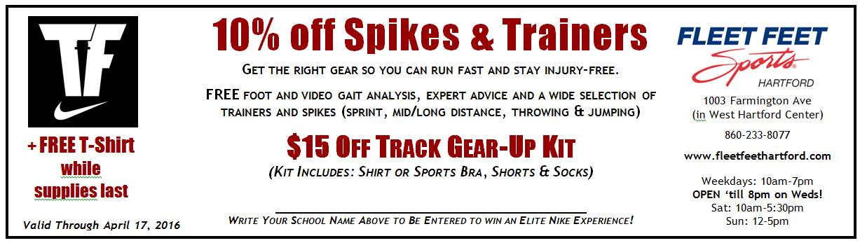 Outdoor Track Coupon