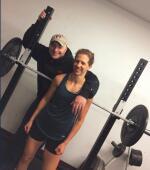 Betsy w/Coach Doyle