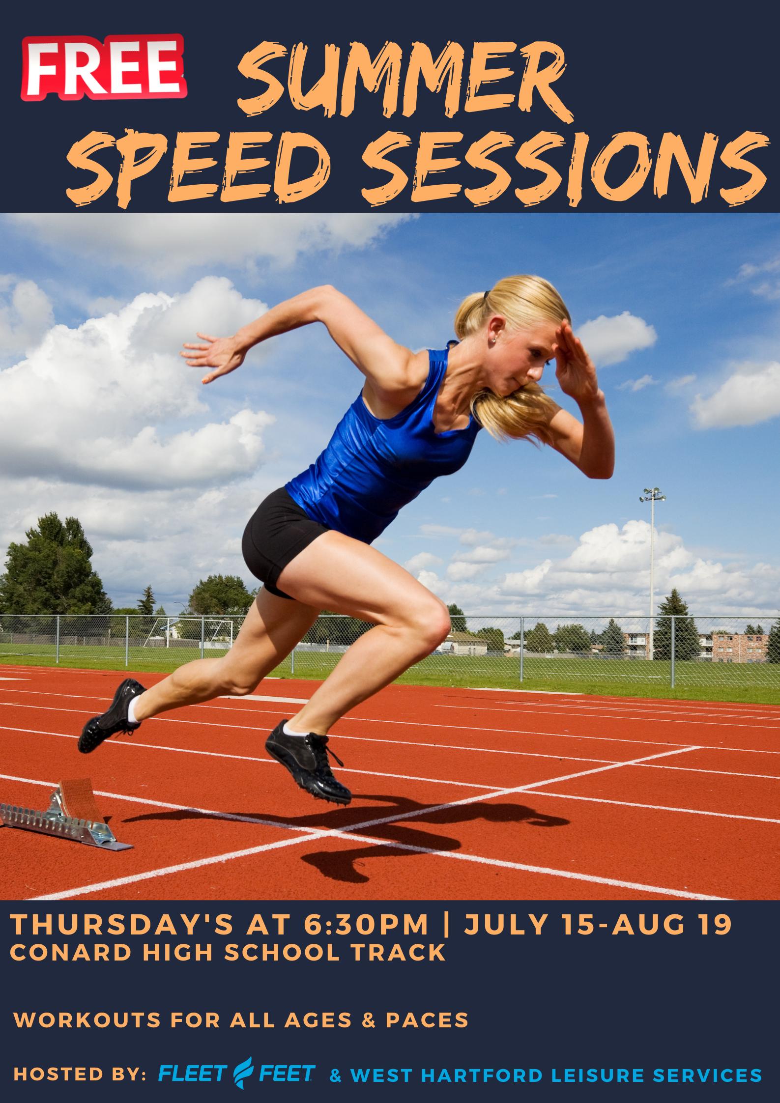 Track Workout Flyer