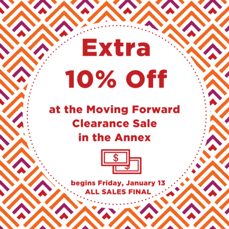 Moving Forward Sale