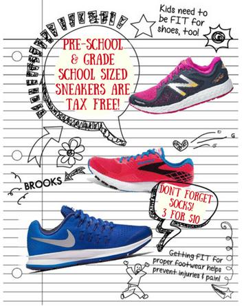 Tax Free Kids Shoes
