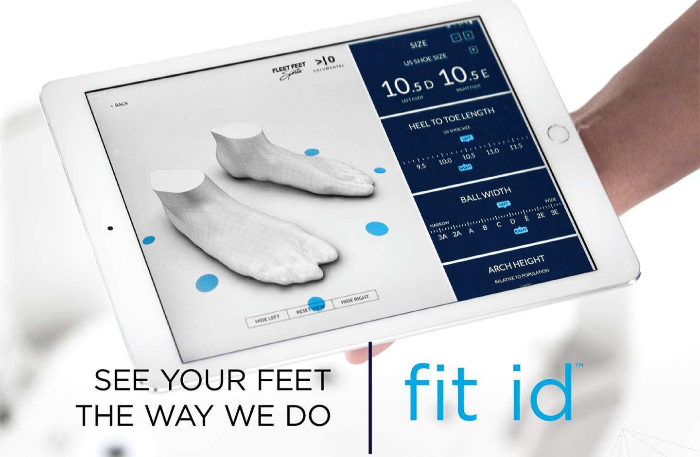 fit id - 3D scanning
