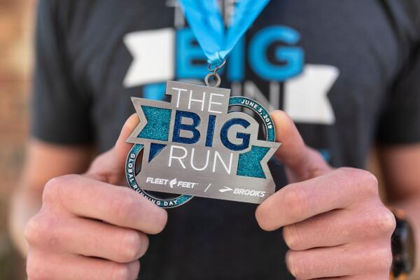 Big Run Medal