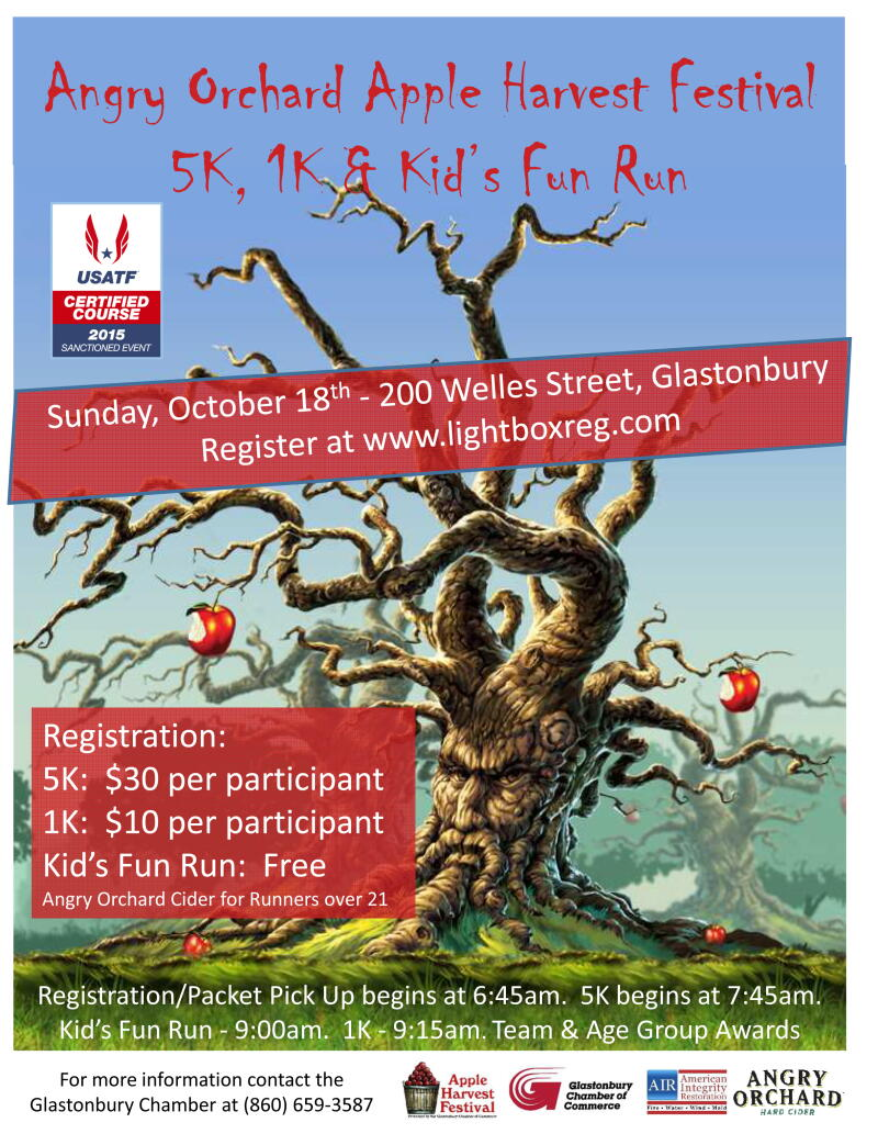 Angry Orchard Apple Harvest 5k