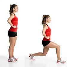 split stance lunge