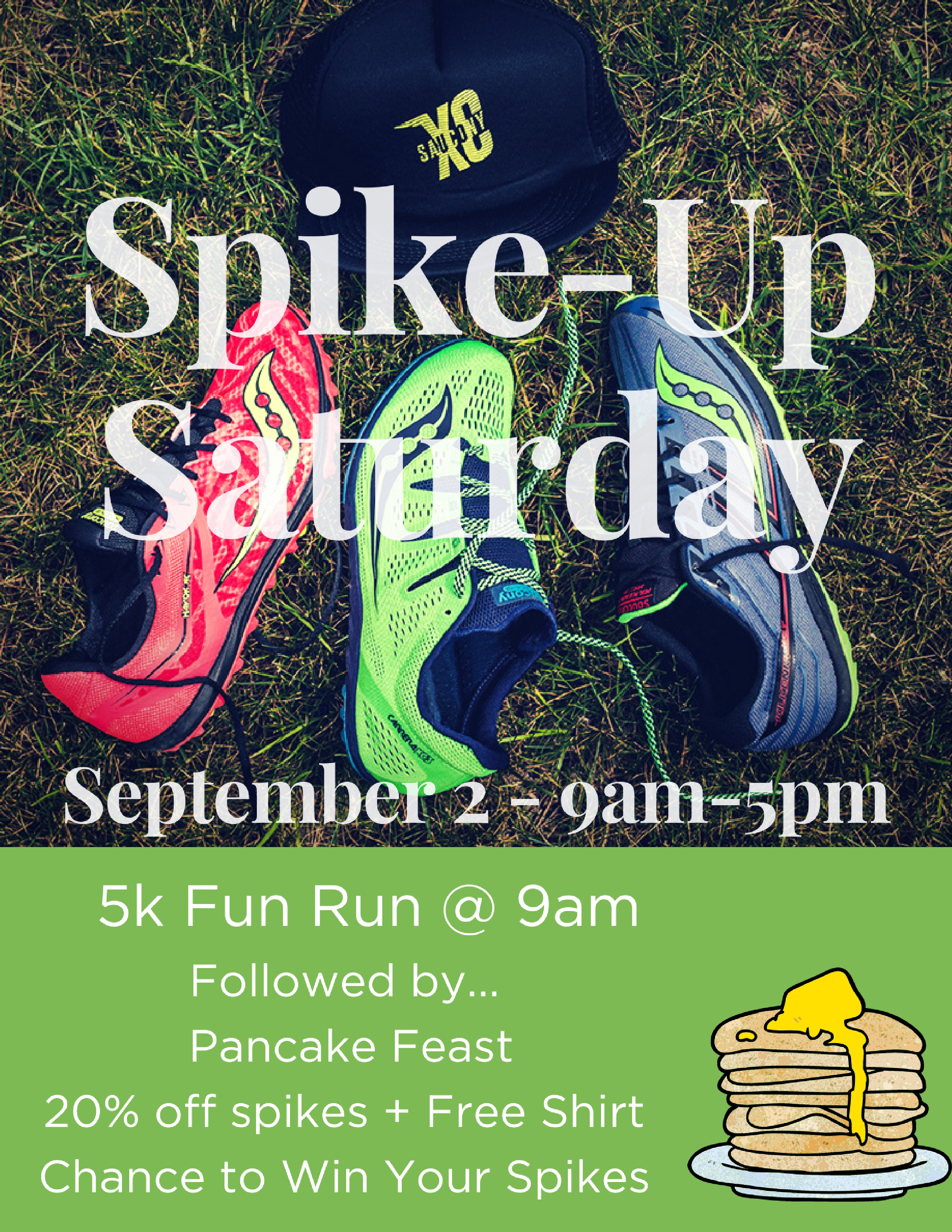 Spike-Up Saturday