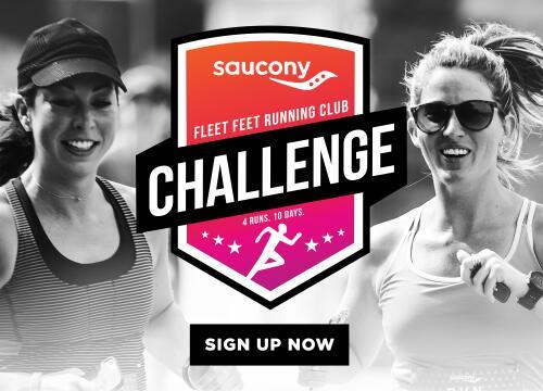 saucony x fleet feet challenge sign up