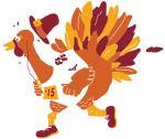 Turkey trot logo 2015
