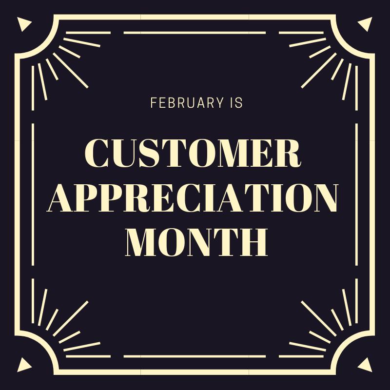 customer appreciation month