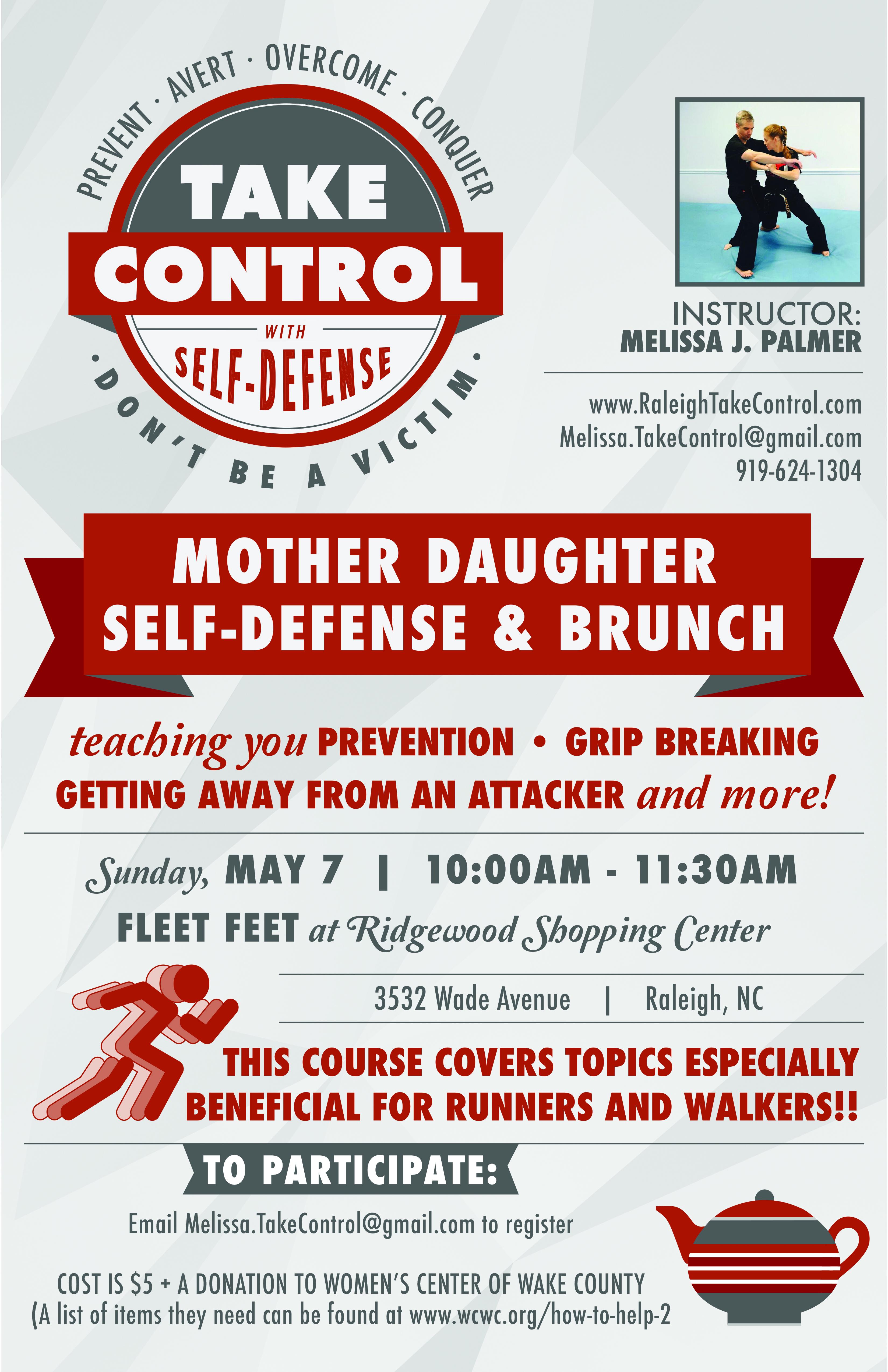 mother daughter self defense class