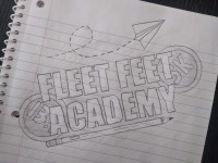 Fleet Feet Academy logo
