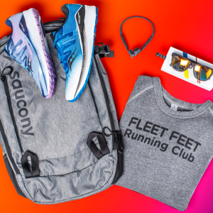 challenge prize pack - shoes, headphones, backpack