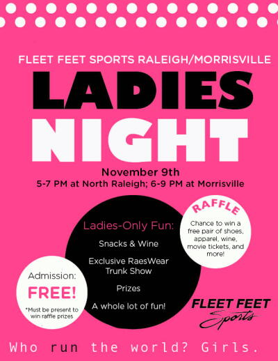 Ladies night both stores