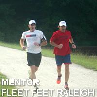 Mentor Fleet Feet Raleigh