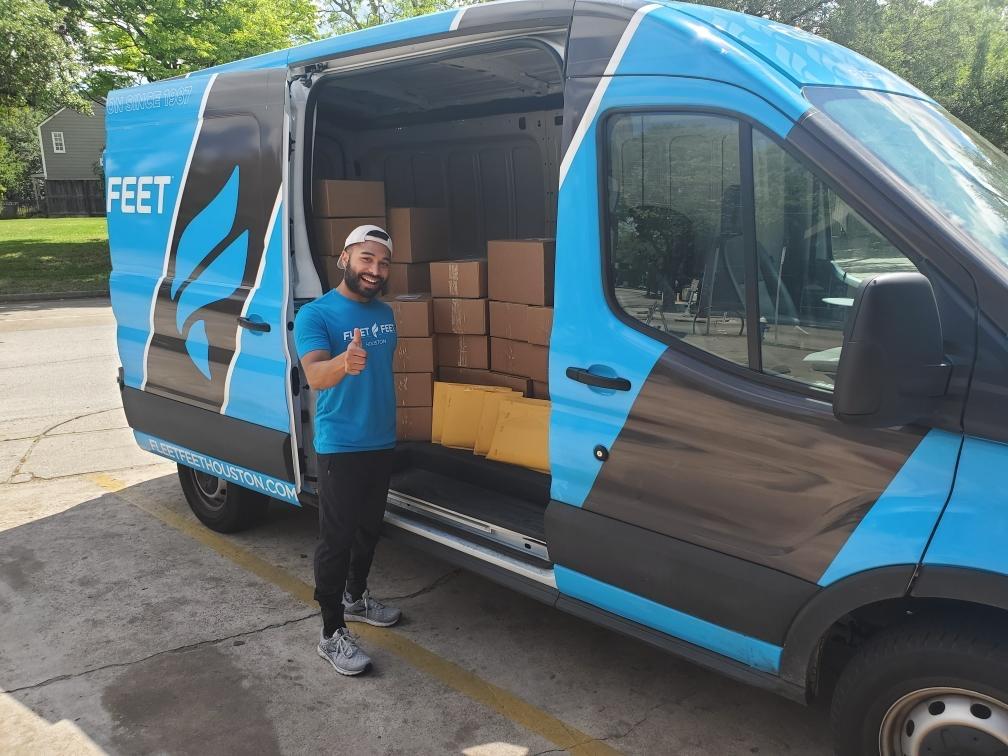 Fleet Feet Houston Van