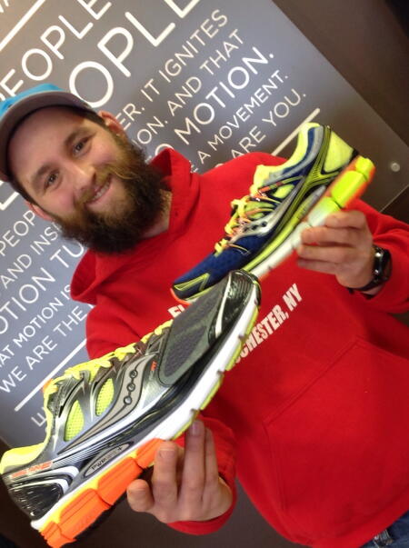 Saucony Triumph and Hurricane Staff Pick