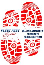 2016 Fleet Feet Fox Valley Bellin Community Corporate Challenge Team Logo