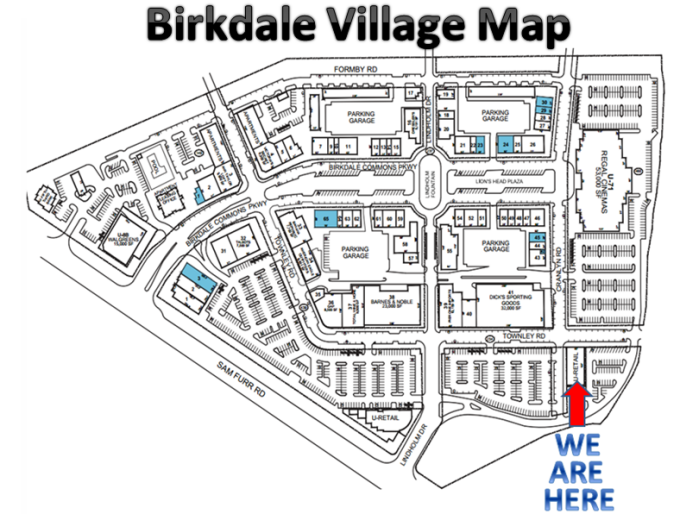 Birkdale Village Map