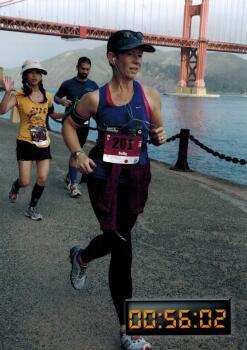 Sally Collings at Presidio 10K