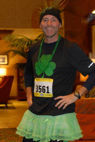 Jim at Shamrock'n half marathon