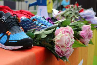 Shoe and flower Mother Day 5K
