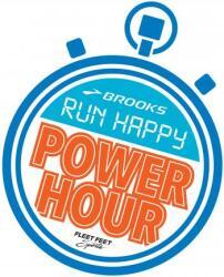 Brooks Power Hour stopwatch