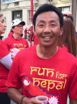 Tashi at Run for Nepal