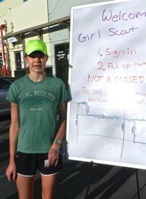 Cricket Gorey Girl Scout Fun Run 2017