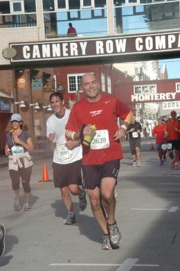Jim at Big Sur Half run
