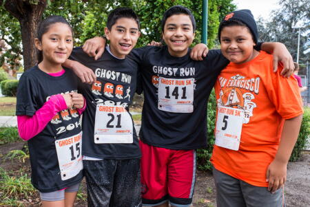 SYC runners at Ghost Run 2014