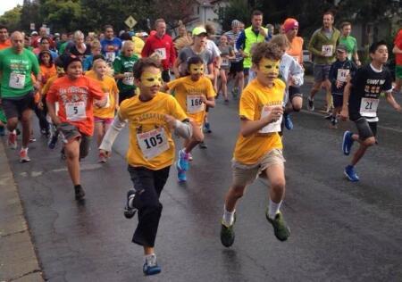 Ghost Runners start line