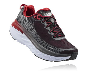 HOKA Bondi 5 red mens