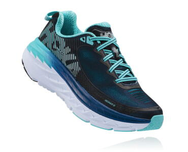 HOKA Bondi 5 blue women shoe
