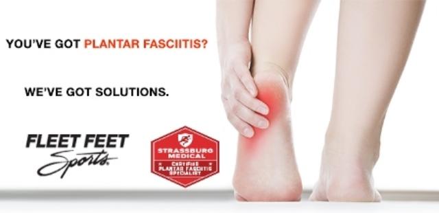 Plantar Fasciitis - Fleet Feet Mount