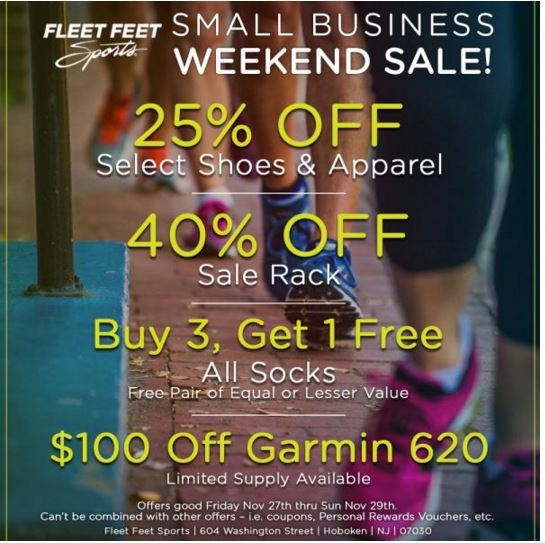 sale items for small business weekend
