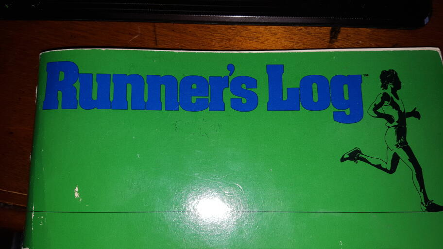 Dink's First Running Log From 1979