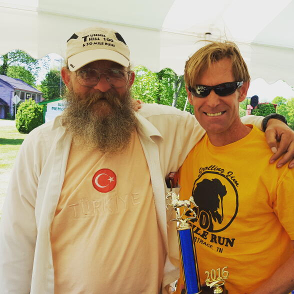 Dink with Race Founder/Race Director Gary Cantrell, 2016