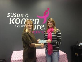 komen knoxville kelly ross fleet feet sports breast cancer