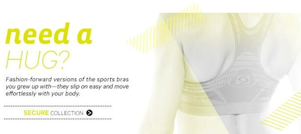 moving comfort secure sports bra collection