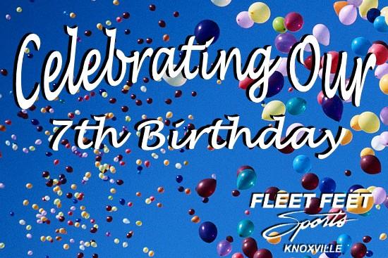 birthday fleet feet sports knoxville 7