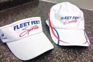 Fleet Feet Hat and Visor