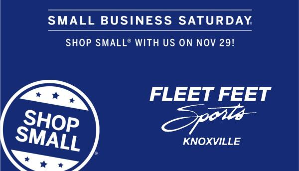 small business saturday fleet feet knoxville