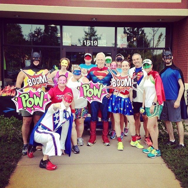 Brooks SuperCaper Fun Run group