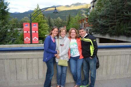 Kyli, Dana, Cheryl, and Shahin
