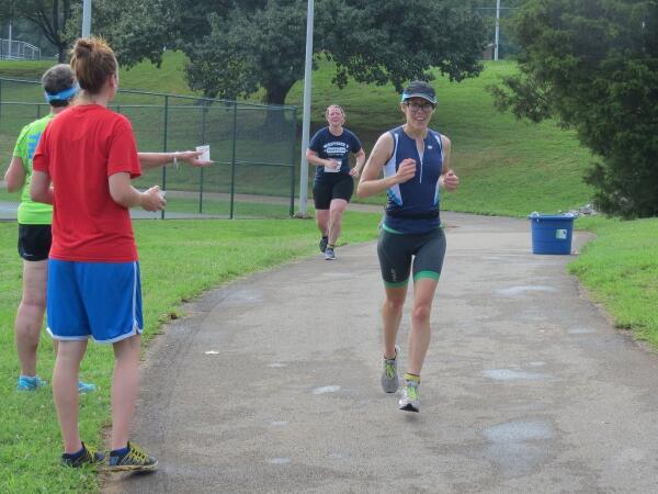 Racing the West Side Y Sprint Triathlon