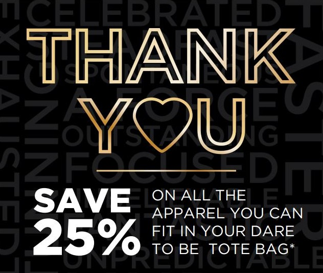 Top 25 Customers Save 25% Off